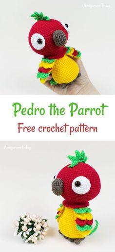 Crochet Parrot pattern#amigurumi #amigurumidoll #amigurumipattern #amigurumitoy #amigurumiaddict #crochet #crocheting #crochetpattern #pattern #patternsforcrochet
