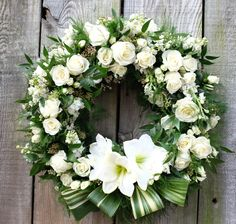Prestige Custom Floral Wreath | Michler's Florist, Greenhouses & Garden Design | Lexington, KY