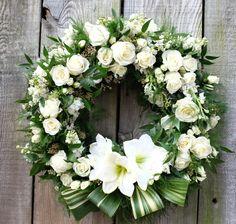 Prestige Custom Floral Wreath | Michler's Florist, Greenhouses & Garden Design | Lexington, KY