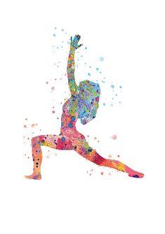 Art Zen Yoga Pose Poster Yoga Watercolor Art Print Fine Art Fine Art Yoga Illustration Paper Mother S Day Wedding Gift - Yoga is a group of physical Image Yoga, Image Zen, Free Illustration, Illustrations, Yoga Dekor, Lotus Kunst, Lotus Buddha, Yoga Kunst, Yoga Symbole