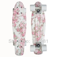 "Pink Longboards For Girls 1pcs new 22"" printed penny"