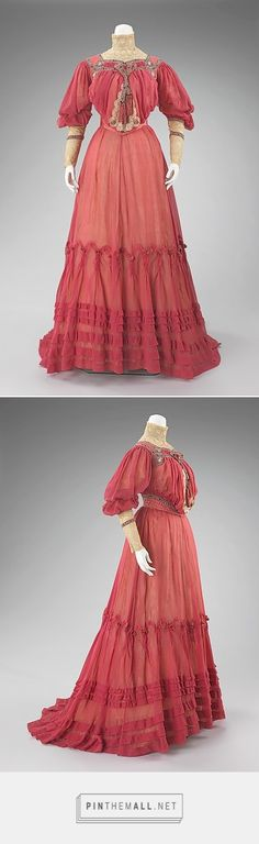 Afternoon dress by Jacques Doucet ca. 1903 French | The Metropolitan Museum of Art