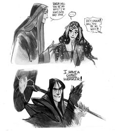 Melkor Was Here - laughed way more than I should have . . .