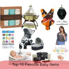 Top 10 Favorite Baby Items