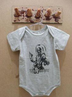 Body Irone Maiden  Cor: Cinza R$ 30,00  www.elo7.com.br/dixiearte
