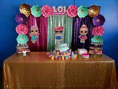 Today's LOL Surprise Backdrop Rental #lolsurprisebirthday #lolsurpriseparty #lolsurprisedolls