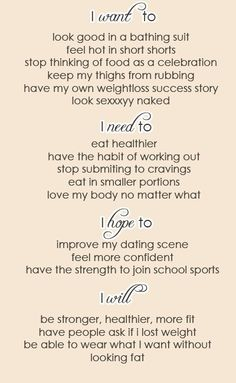 Motivation to lose weight & get in shape