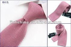 de color rosa de seda corbata de punto para hombres-Corbatas Seda-Identificación del producto:649820472-spanish.alibaba.com