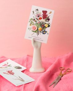 5 Last-Minute DIY Ideas for Saying Happy Valentine's Day - Language of Flowers Printable Cards