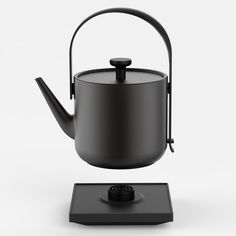 Teawith kettle by Keren Hu is designed for the living room | EverythingAboutDesign.com