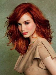 69 Best ideas for wedding makeup redhead blue eyes christina hendricks Human Hair Lace Wigs, 100 Human Hair, Celebrity Hairstyles, Wig Hairstyles, Red Hair Celebrities, Female Celebrities, Wedding Makeup Redhead, Red Hair Woman, Celebrity Hair Colors