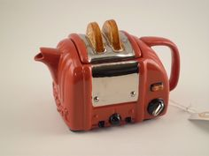 Retro Toaster Theepot