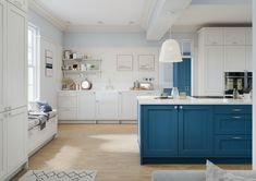 Lochanna Kitchens Shaker Style Kitchens, Shaker Kitchen, New Kitchen, Veneer Door, Wood Veneer, Kitchens Of Distinction, Beautiful Space, Beautiful Homes, Italian Doors
