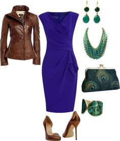 """""""Ms. Peacock"""" by kaybeer on Polyvore"""