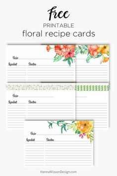 Ideas wedding planning binder template free printables recipe cards for 2019 Binder Templates, Templates Printable Free, Free Printables, Menu Template, Printable Recipe Cards, Printable Planner, Recipe Card Templates, Recipe Printables, Free Planner