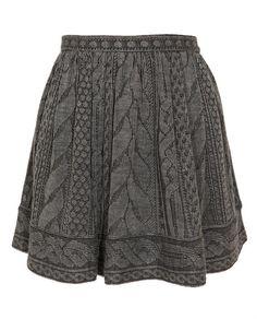 Plaited effect skirt. Splendid!!