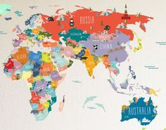Printable World Map Labeled World Map See Map Details From Ruvur - World map la