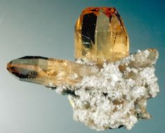 Topaz (many colors and clear) Heaven in Revelations 21 Crystals Minerals, Rocks And Minerals, Crystals And Gemstones, Rock Of Ages, Cool Rocks, Rocks And Gems, Fossils, Topaz, Revelation 21