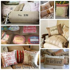 Burlap Projects by too-much-time,com