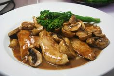This Chicken Marsala Recipe saves calories and time with simplicity