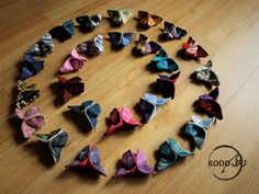 wrap scrap butterfly broches made by KOdoBa #Oscha #Natibaby #Lennylamb #Yaro #Kokoshkaa #Madalo #Didymos
