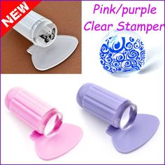 DIY Nail Art Stamping Stamper Scraper Image Plate Transfer Manicure Tool in Health & Beauty, Nail Care, Manicure & Pedicure, Nail Art Accessories Manicure Diy, Diy Nails, Nail Nail, Nail Art Supplies, Nail Art Tools, New Nail Art, Nail Art Diy, Clear Plastic Plates, Nagel Stamping