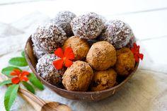 The Tasty K | Coconut Chocolate Fudge Truffles | http://thetastyk.com