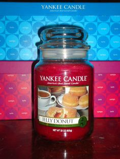 Yankee Candle 22 oz Jars . Jelly Donut