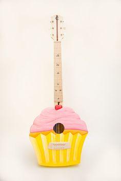 Cupcake Guitar