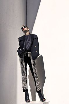 It's all about BALMAIN, you know- Photography by Filep Motwary ©