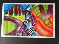 Finished Acrylic Painting 4-21-16