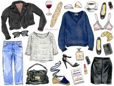 How to be Parisian - Cindy Mangomini