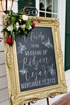 Wedding signs should ideally reflect an idea of the wedding and fit the wedding interior. Look at the popular wedding signs we like. Red Wedding, Rustic Wedding, Wedding Flowers, Wedding Day, Wedding Dresses, Bridesmaid Dresses, Wedding Welcome Signs, Christmas Tree Themes, Christmas Wedding Decorations