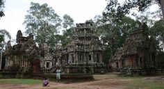 Chao Say Thevoda in Angkor, Siem Reap Cambodia  Date: Beginning of 12th century, Reign: Suryavarman II, Religion: Hindu  Read more: http://www.globaltravelmate.com/asia/cambodia/angkor/angkor-temples/558-siem-reap-chao-say-tevoda.html#ixzz2XbSPTd2g