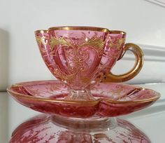 Moser Teacup 1895 - 1905