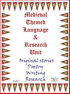 $This is a Language and research unit of work written for students around medieval themes. The unit has numerous activities that will appeal to various age groups, as individual tasks, group activities, extension, as a book of work to be completed etc. I have tried to balance language and research activities in this unit. This is a standalone unit on medieval times, it is also a part of a larger unit I have written called Dragon and Medieval Themed Unit. #Education #Language #Research