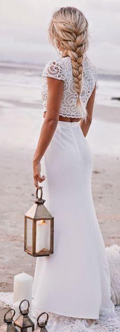#street #style white lace @wachabuy