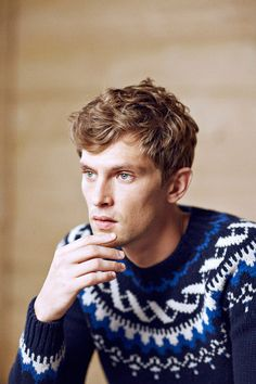 Mathias Lauridsen for Massimo Dutti Apres Ski Fall Winter 2014