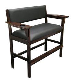 Signature Billiard Chair for Two (Mahogany)