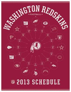 Washington Redskins 2013 Schedule