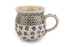 Polish Pottery - Blue Rose