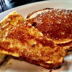 Dottie's famous pancakes and French toast at Dottie's True Blue Cafe