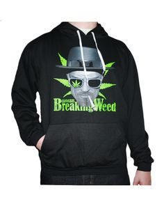 Sudadera Breaking Weed (Unisex)