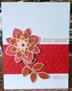 Stampin' Up! has two NEW catalogs coming out soooooon! Keep your eyes open for them. Can I get a WOOP WOOP! Hello You, Crazy About You, Stampin Up Cards, Catalog, Yard, Crafty, Spring, Flowers, Projects