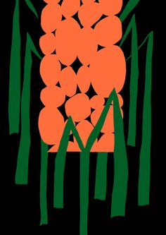 Antti Kalevi, Orange Flower on Black Background, 2015 Background Drawing, Background Patterns, Pattern Illustration, Graphic Design Illustration, Grafic Art, Paint Themes, Abstract Flower Art, Small Canvas Art, Exhibition Poster