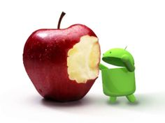 Is #Android going to swallow the whole of #Apple or will take a bite of Apple?  #Tech & Gadgets