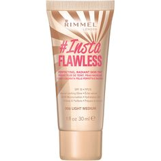Rimmel InstaFlawless Primer (30ml) (36 QAR) ❤ liked on Polyvore featuring beauty products, makeup, face makeup, makeup primer and rimmel