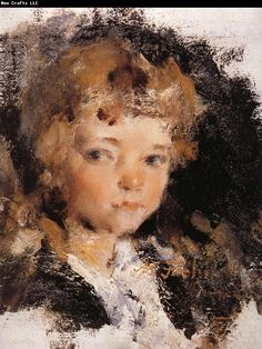 Nikolay Fechin Portrait of girl