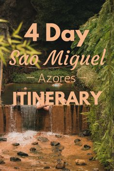 Epic Sao Miguel Itinerary: How to Spend 4 Days in the Azores Visit Portugal, Spain And Portugal, Portugal Travel Guide, Portugal Trip, San Miguel Azores, Virtual Travel, Future Travel, Places To Travel, Vacation Places