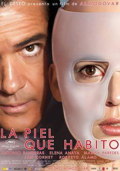 """""""La piel que habito"""" (Pedro Almodóvar, 2011) con Antonio Banderas, Elena Anaya y Marisa Paredes."""